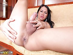 Sweet Asian New loves having a huge Ramon cock inside her!