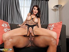 Eva Lin loves getting her horny ass fucked!